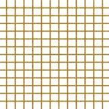 Papier géométrique de modèle vérifié par scintillement d'or Photos stock