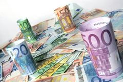 Papier-geld Royalty-vrije Stock Foto's