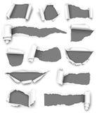 Papier gris illustration libre de droits