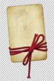 Papier grunge avec la corde sur le fond abstrait illustration libre de droits