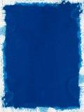 Papier grunge bleu image stock