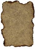 Papier grunge de cru : Brown brûlé Image libre de droits