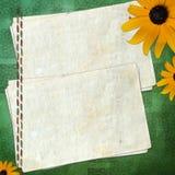 Papier grunge pour l'information dans le type scrapbooking Illustration Stock