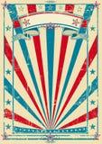 Papier grunge tricolore illustration libre de droits