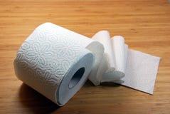 Papier hygiénique Photographie stock