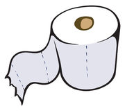 Papier hygiénique illustration libre de droits