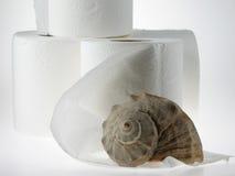 Papier hygiénique Rolls Photos libres de droits
