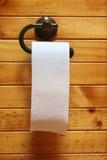 Papier hygiénique sur le roulis Image libre de droits