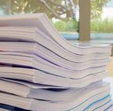Papier im Büro lizenzfreies stockfoto