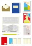 Papier Itens Stockbild