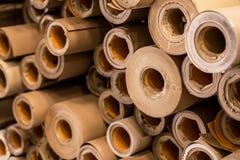 Papier-Kraftpapier-Kern Stockbilder