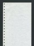 Papier listing Images stock