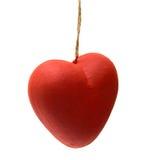 Papier mache heart Royalty Free Stock Photo