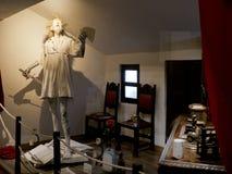 Paper statue of Don Quixote, Venta del Quijote, Puerto Lapice, La Mancha, Spain, Espana