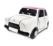 Papier-mache toy car Stock Images