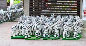 Papier-mache Zebra Stockbilder