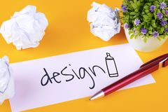 Papier mit Design lizenzfreies stockfoto
