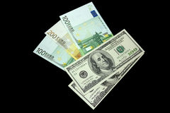 Papier-monnaie Photo libre de droits