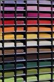 Papier-muur in verschillende kleuren Royalty-vrije Stock Afbeeldingen