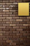 Papier na ściana z cegieł Obraz Stock