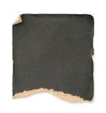 Papier noir grunge Images stock