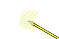 papier ołówek Obrazy Stock