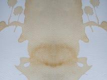 Papier od kawowych plam Obrazy Royalty Free
