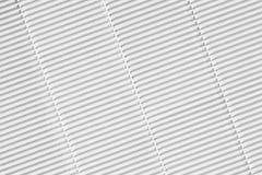Papier ondulé blanc photo libre de droits