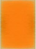Papier orange Image libre de droits