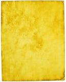 Papier parcheminé Image libre de droits