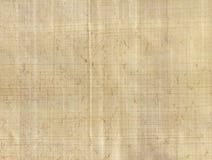 Papier parcheminé de papyrus Images libres de droits