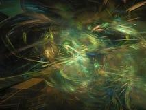 Papier peint abstrait de fractale de Digital, modèle, texture décorative et élégante magique vibrante illustration de vecteur