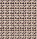 Papier peint abstrait de modèle de zigzag d'or Photographie stock