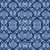 Papier peint antique bleu illustration libre de droits