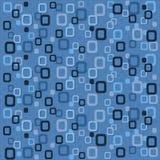 Papier peint arrondi bleu de grands dos illustration de vecteur