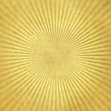 Papier peint avec les rayons d'or Images libres de droits