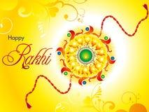 Papier peint bandhan de raksha artistique abstrait Images stock