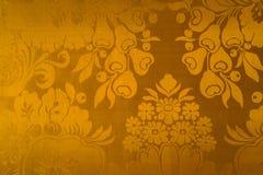 Papier peint baroque classique d'exclusivité de style d'or illustration libre de droits