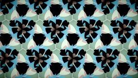 Papier peint blanc vert-bleu de coeur d'amour Image stock