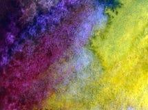 Papier peint brouillé lumineux de tache de débordement de main texturisée de décoration de l'eau de côte de fond d'abrégé sur art Photographie stock libre de droits