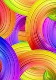 Papier peint coloré Photo libre de droits
