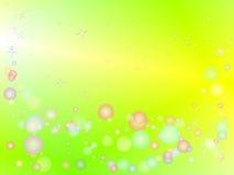 Papier peint coloré de bulles Illustration Libre de Droits