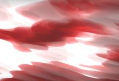 Papier peint créatif nuageux rouge unique abstrait Image libre de droits