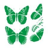 Papier peint d'abrégé sur conception d'illustration de fond de modèle de tissu de tuile de couverture de papillon illustration stock