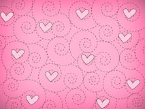 Papier peint d'amour Photographie stock libre de droits