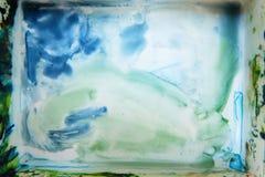 Papier peint d'art de palette d'aquarelle de Colorfull Photo libre de droits