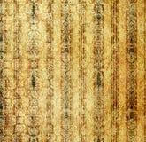 Papier peint d'or de cru illustration stock