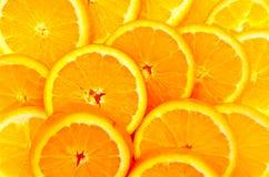 Papier peint d'oranges Images libres de droits