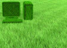 Papier peint d'ordinateur d'herbe Images stock