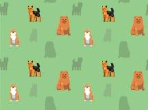 Papier peint 12 de chien Images libres de droits
